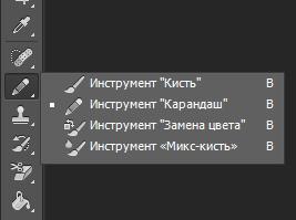 Инструменты Photoshop — Обзор
